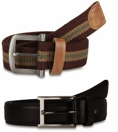 Men's Casual & Fomal Belts starts from Rs.295 ( can also get Extra 25% or 32%)
