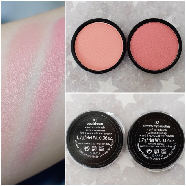 essences Sortimentsupdate 2017 my must haves review, swatches blush