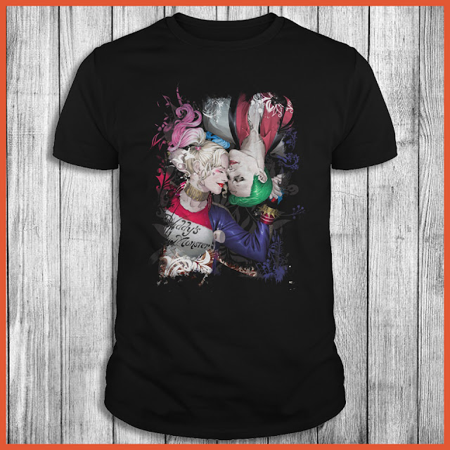 The Couple Harley Quinn And The Joker Shirt