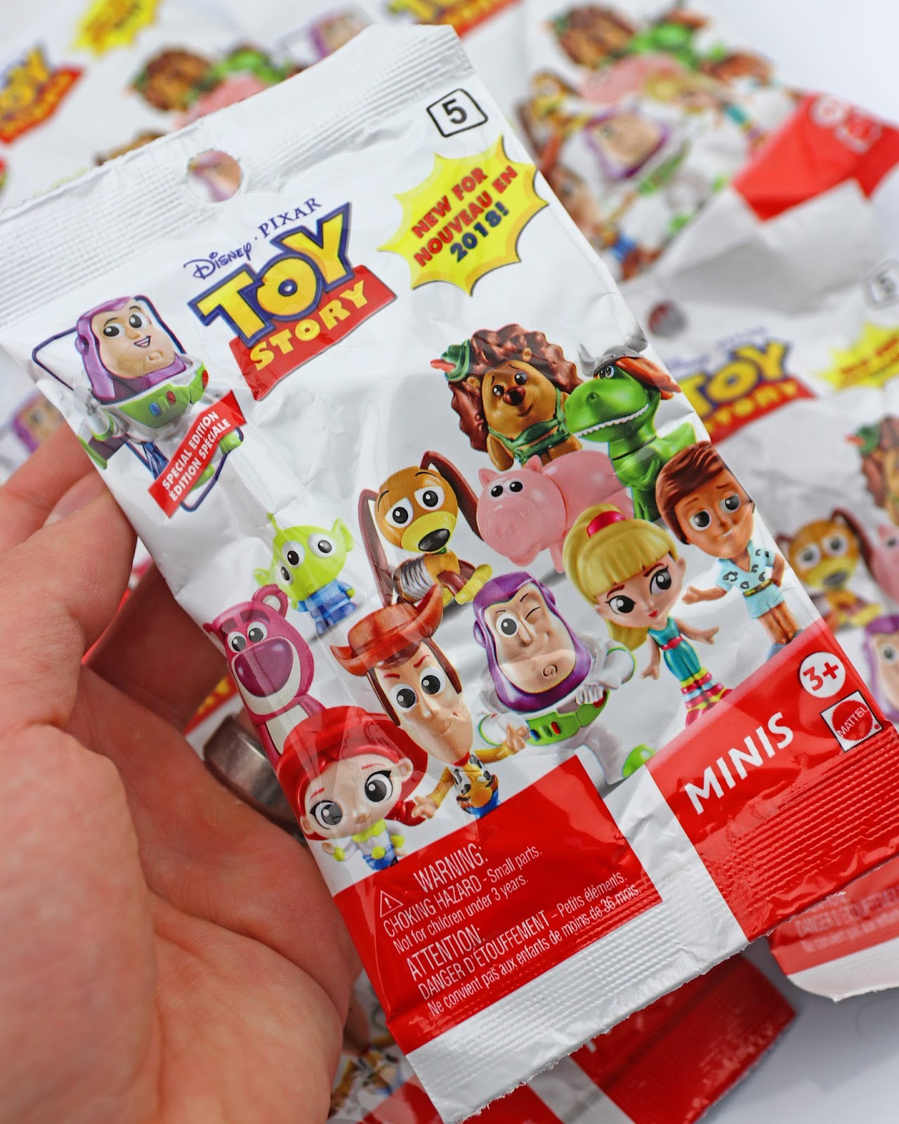 mattel toy story minis series 5 blind bags
