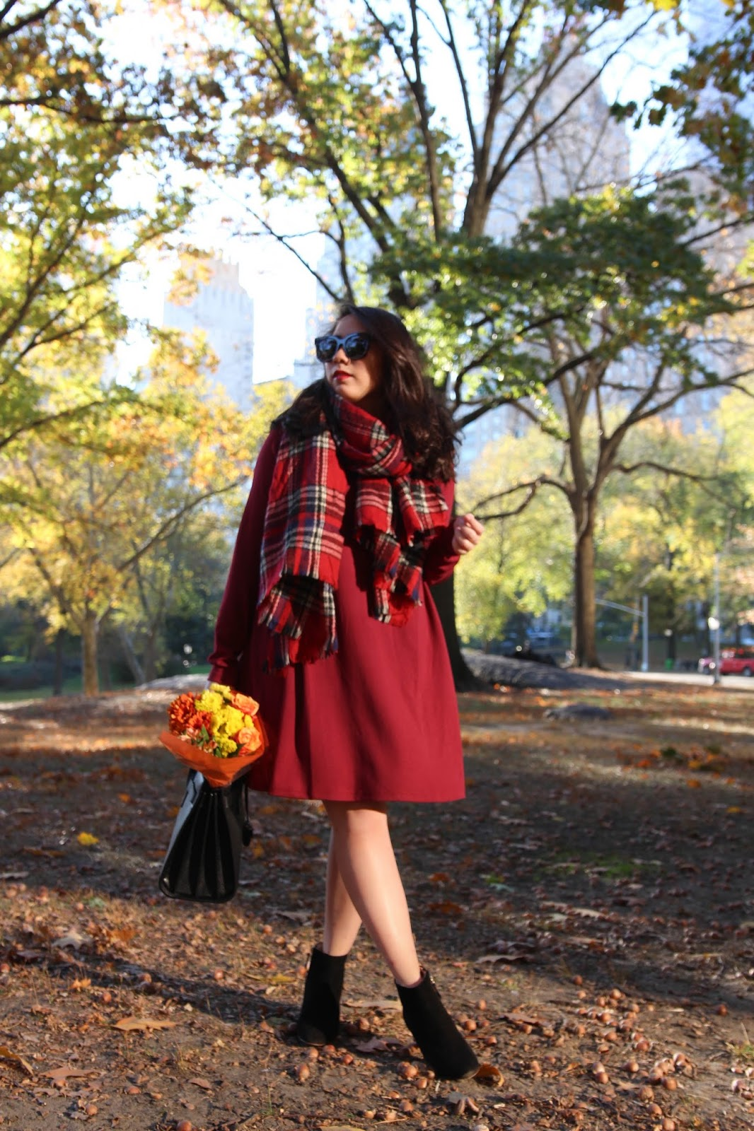 Thanksgiving Day Outfit Idea Swing Dress Under 30 Live Laugh Linda Quinones