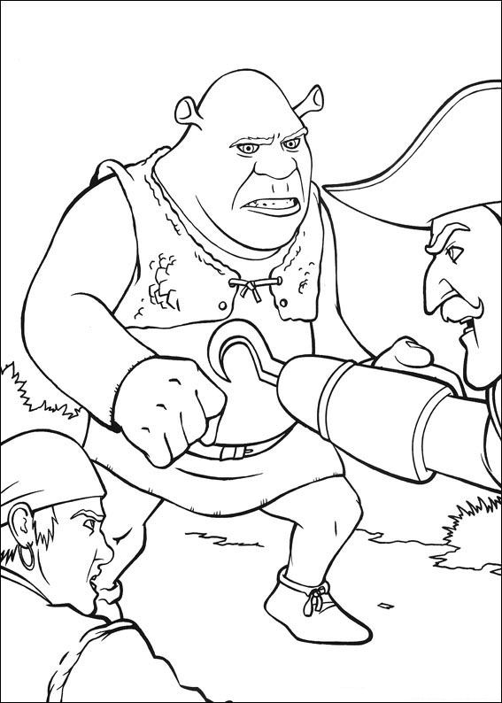Shrek Coloring Pages Learn To Coloring