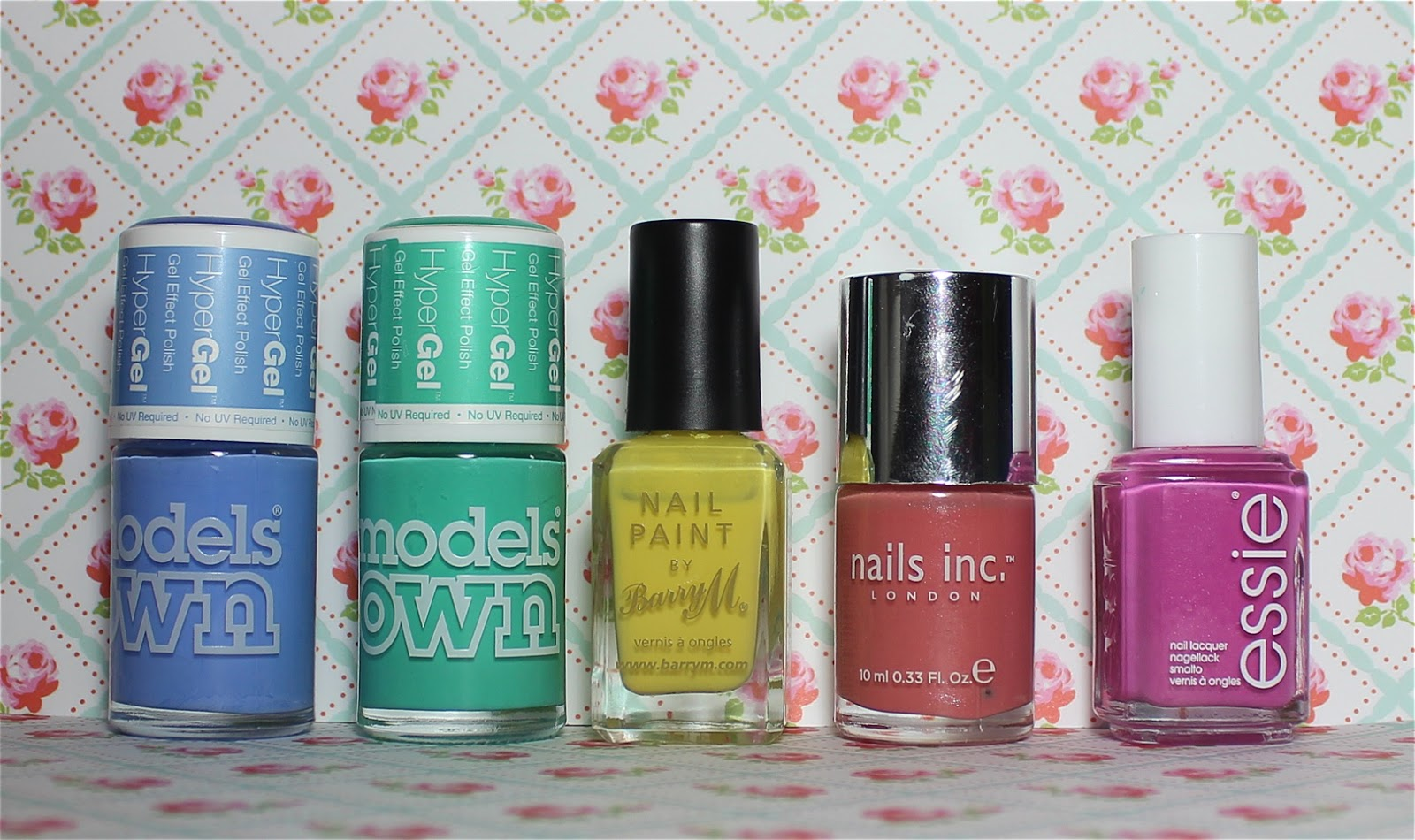 top 5 spring nail polishes
