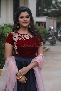 Actress Aathmika in lovely Maraoon Choli ¬  Exclusive Celebrities galleries 014.jpg