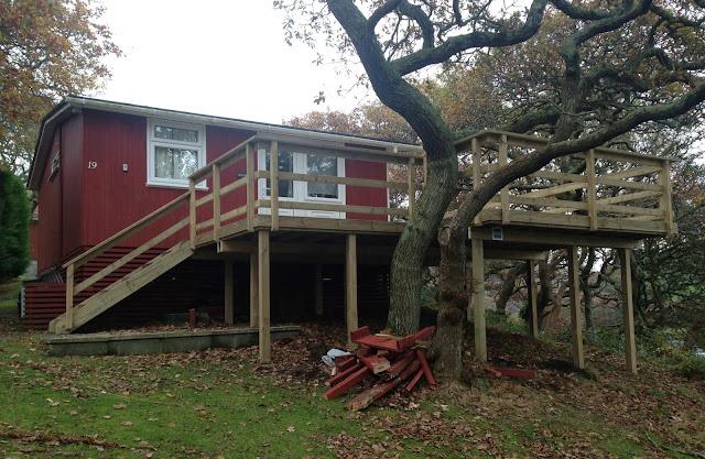 timber deck balcony