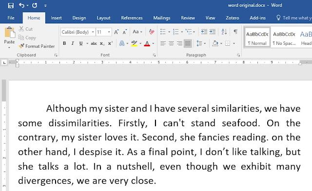 Polesan Paragraf Bahasa Inggris