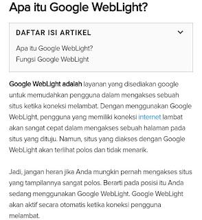 Mendapatkan Cuplikan Unggulan Google