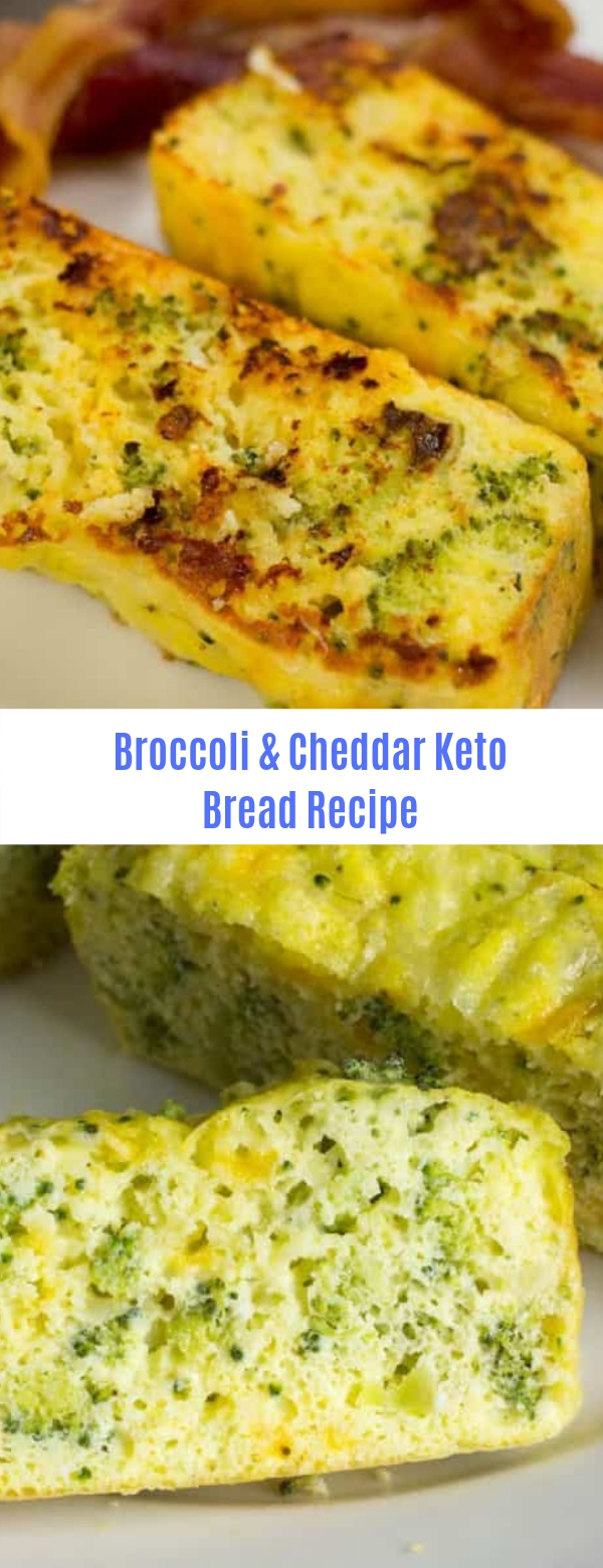 Broccoli & Cheddar Keto Bread Recipe