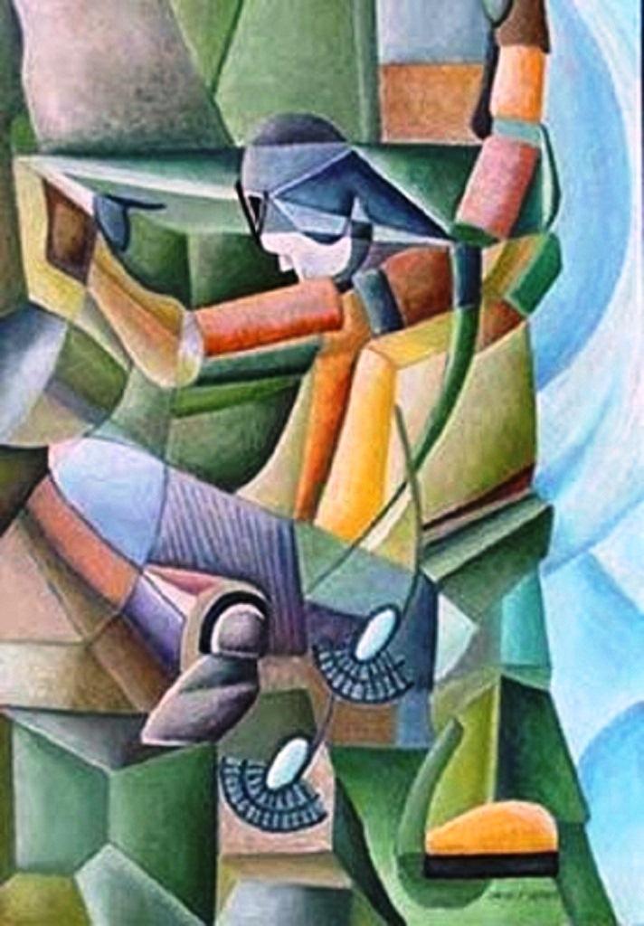 seni-lukis-aliran-kubisme