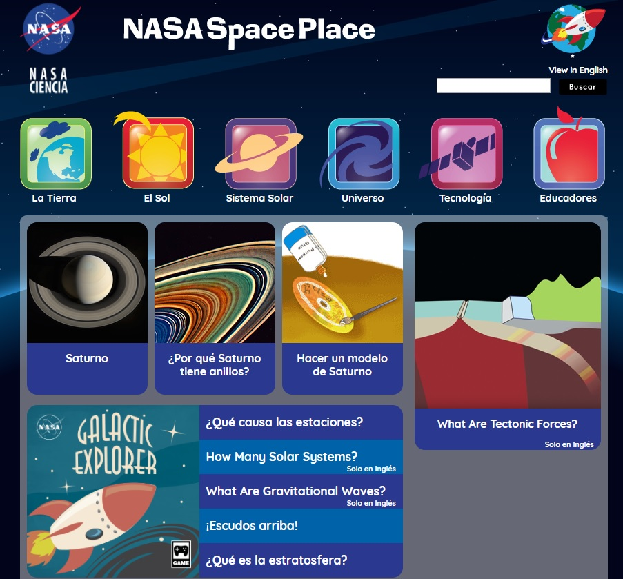 nasa space place - 903×839