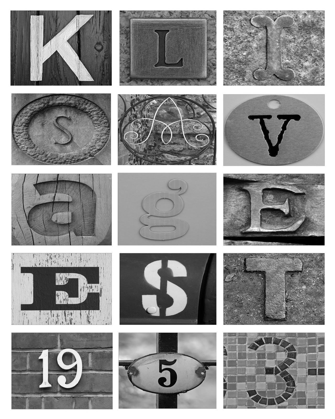 letter art photography free in this diy letter on the cheap 19685 | Klisavage Art