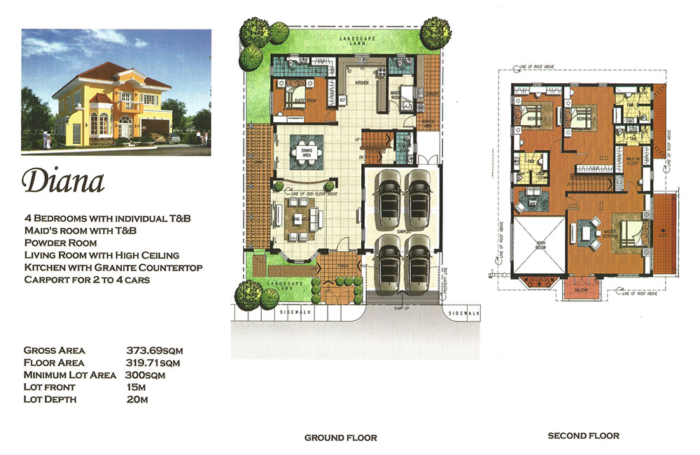 versailles alabang - diana | luxury house and lot for sale las pinas