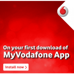 My vodafone app free internet data