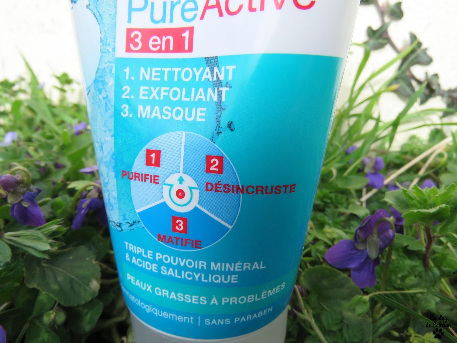 PureActive 3 en 1 - Garnier Skin Naturals