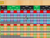 Aplikasi Jadwal Pelajaran Otomatis Excel