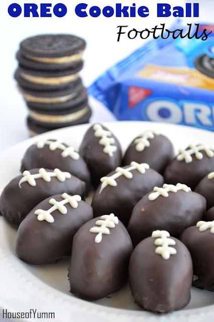 Super Bowl snacks, Oreo cookie balls