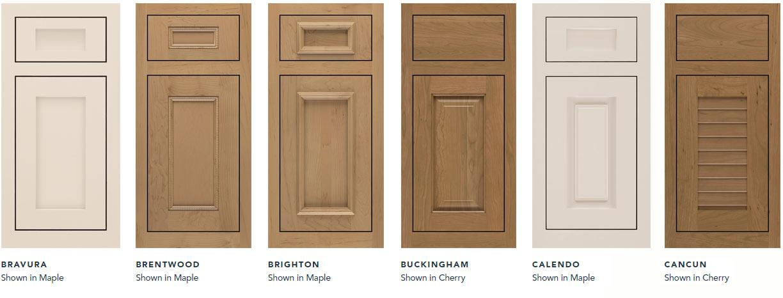 Omega Inset Door Styles