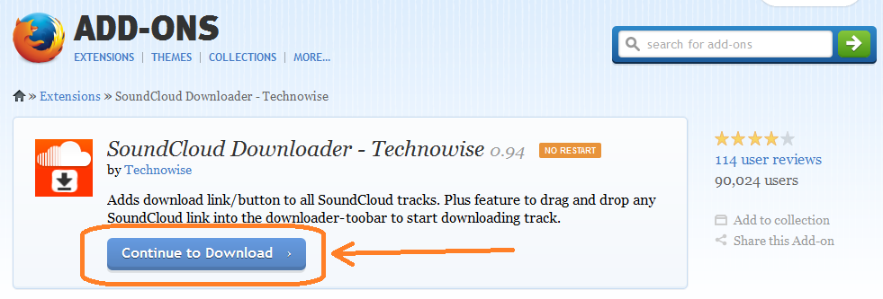 Soundcloud Downloader Firefox