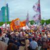 Kampanye Akbar Prabowo, Lantunkan Ciri Khas Makassar Ewako Sulsel