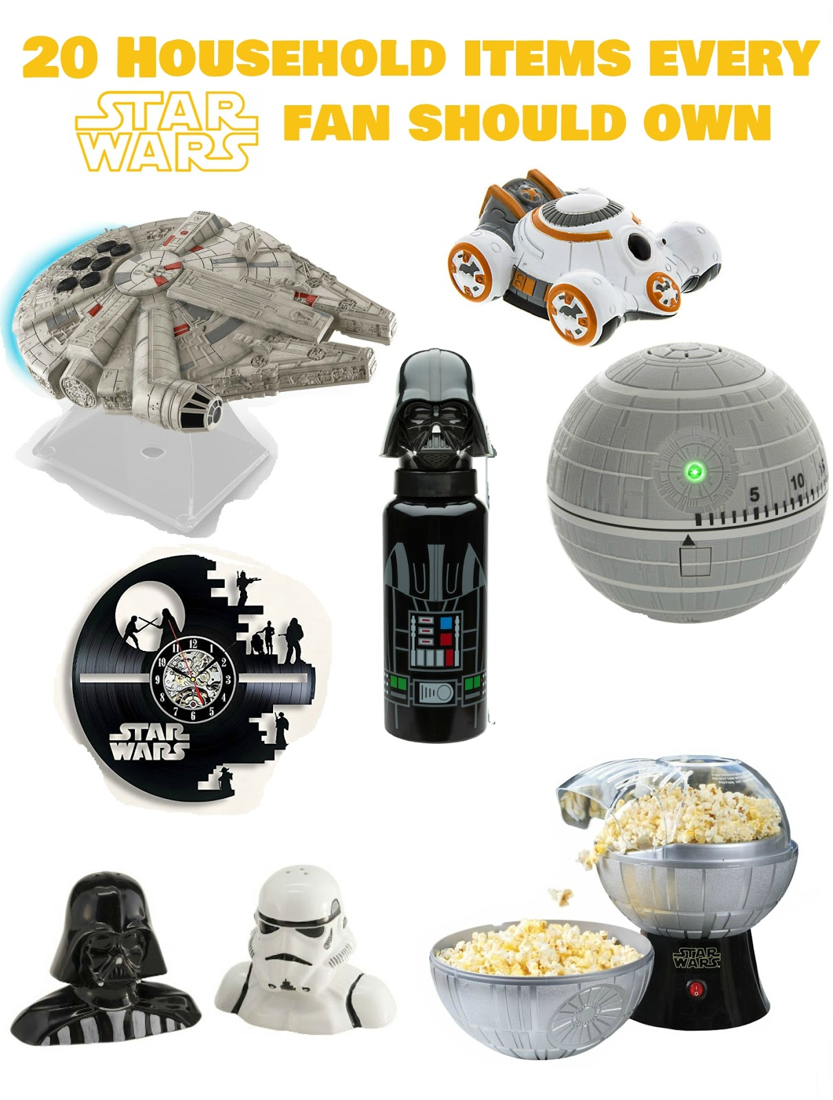 Star Wars House Items The Best Star Wars Household Gadgets Everything Rad