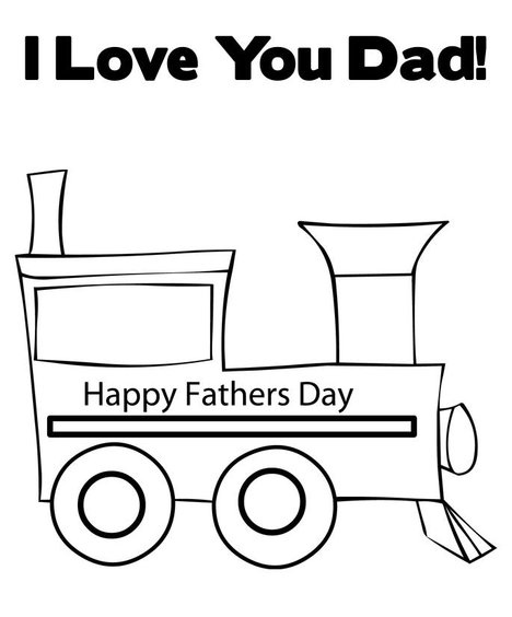 i love dad coloring pages - photo #36