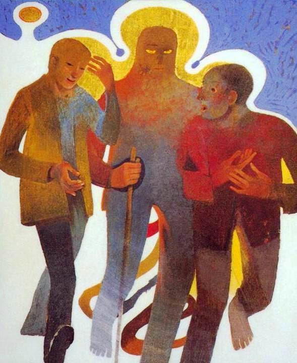 IdRNicFi: I discepoli di Emmaus (Arcabas, 1994)
