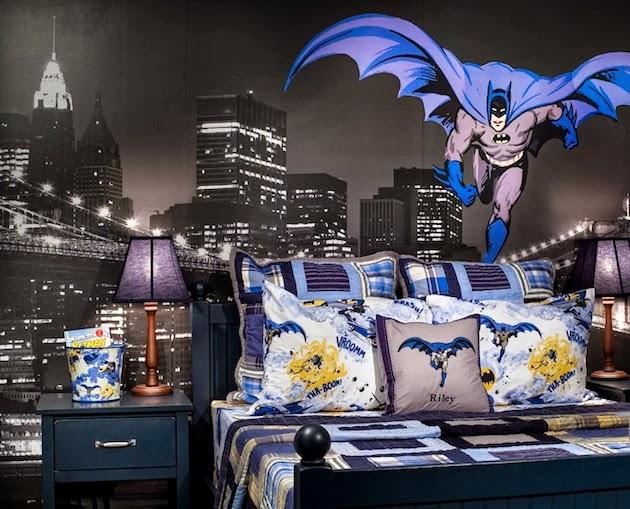 Desain Kamar Tidur Anak Super Hero Batman Dekorasi Ruangan Rumah