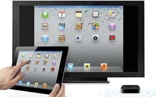 إيقاف تشغيل AirPlay أو انعكاس الشاشة