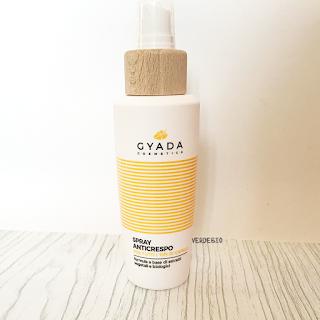 Gyada Cosmetics review verdebio spray anticrespo