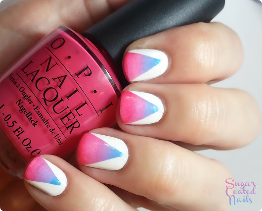 Sugar Coated Nails: Cotton Candy Yum Yum