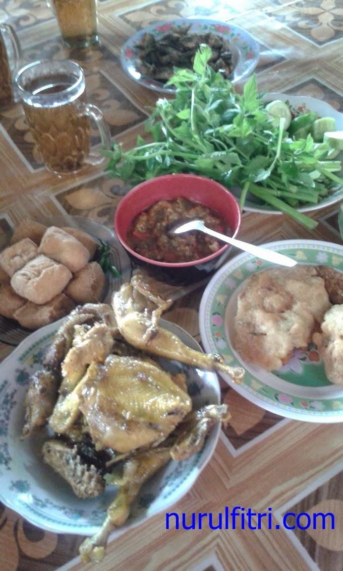 Ayam Goreng dan  Baby Fish Goreng ala Rumah Makan Mang Yeye