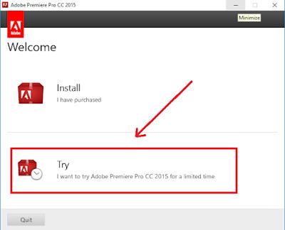 Cara Instal Adobe Premier Pro CC 2015 Full + Crak