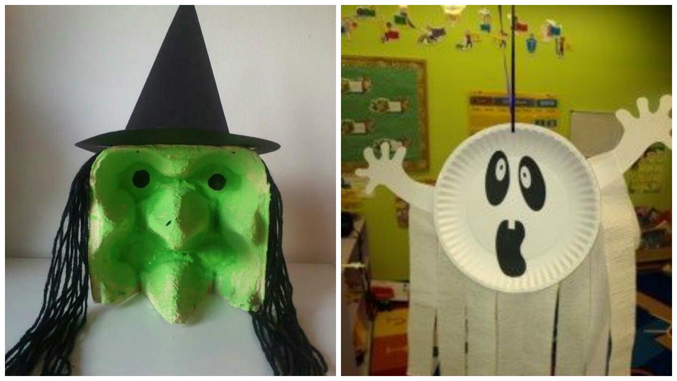 10 manualidades de dulceros y adornos econ micos para - Ideas fiesta halloween ...