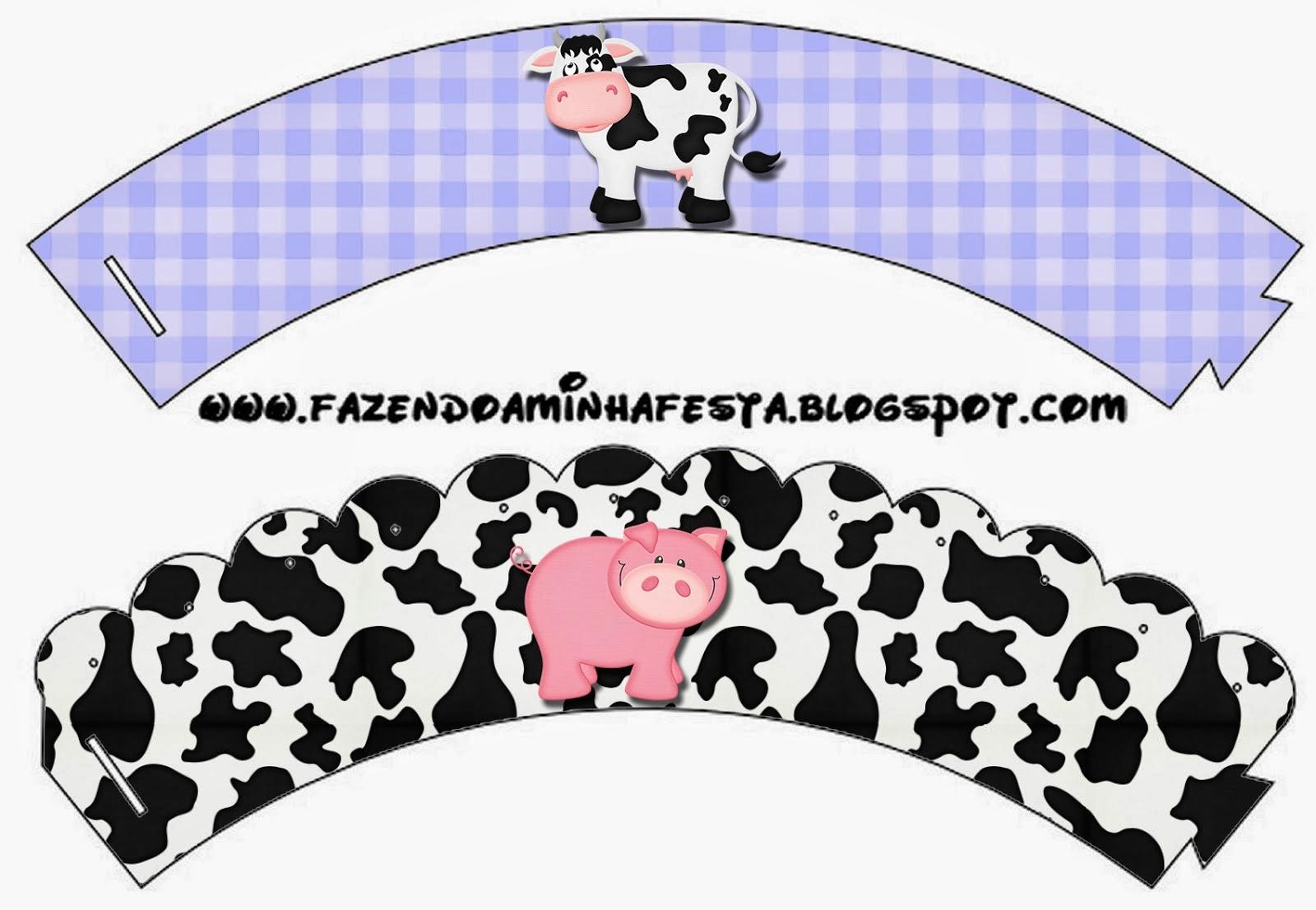 La Granja especial Niños: Wrappers y Toppers para Cupcakes para Imprimir Gratis. famf BELEN