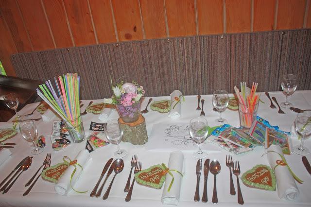 Kindertisch zur Hütten-Hochzeit in der Riessersee-Hütte - heiraten in den bayerischen Bergen im Riessersee Hotel Garmisch-Partenkirchen