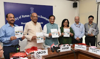 Union HRD Minister Launched 'Shagun'