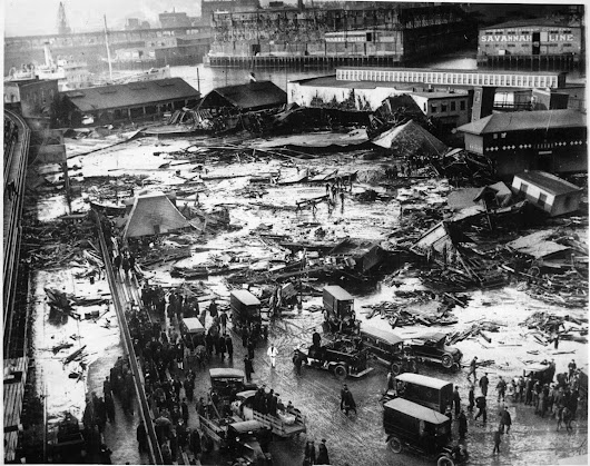 Non-Fiction Review: Dark Tide: The Great Molasses Flood of 1919