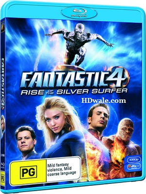 Fantastic 4 Rise of the Silver Surfer (2007) Movie BluRay