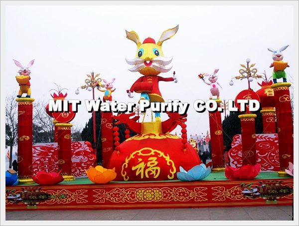 Chinese People celebrate The Traditional Chinese Lunar New Year of The Spring Festivities TO Lantern Festival Day -by MIT Water Purify Professional Team Company Limited