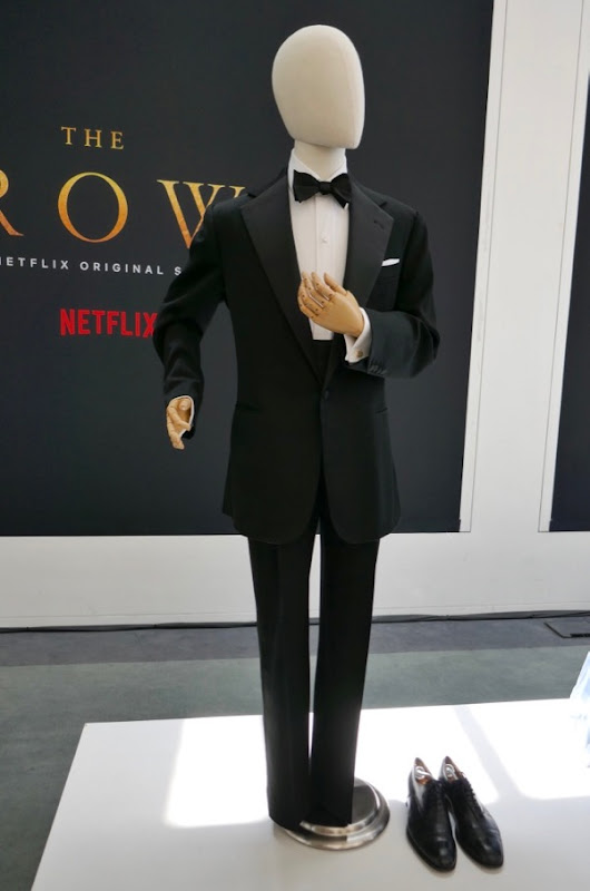 Matt Smith Crown season 2 Prince Philip Dinner suit