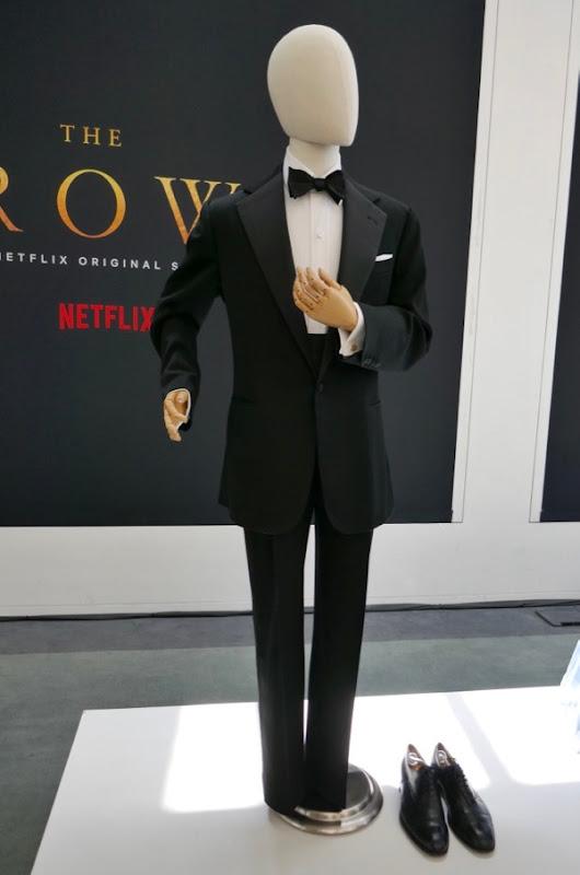 Matt Smith Crown season 2 Prince Philip Dinner suit