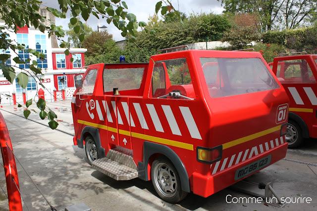 apprentis pompiers