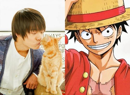Kubota Masataka sera Luffy dans le film live One Piece