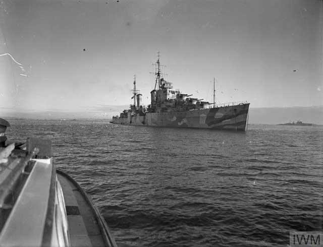 HMS Cleopatra, 9 January 1942 worldwartwo.filminspector.com