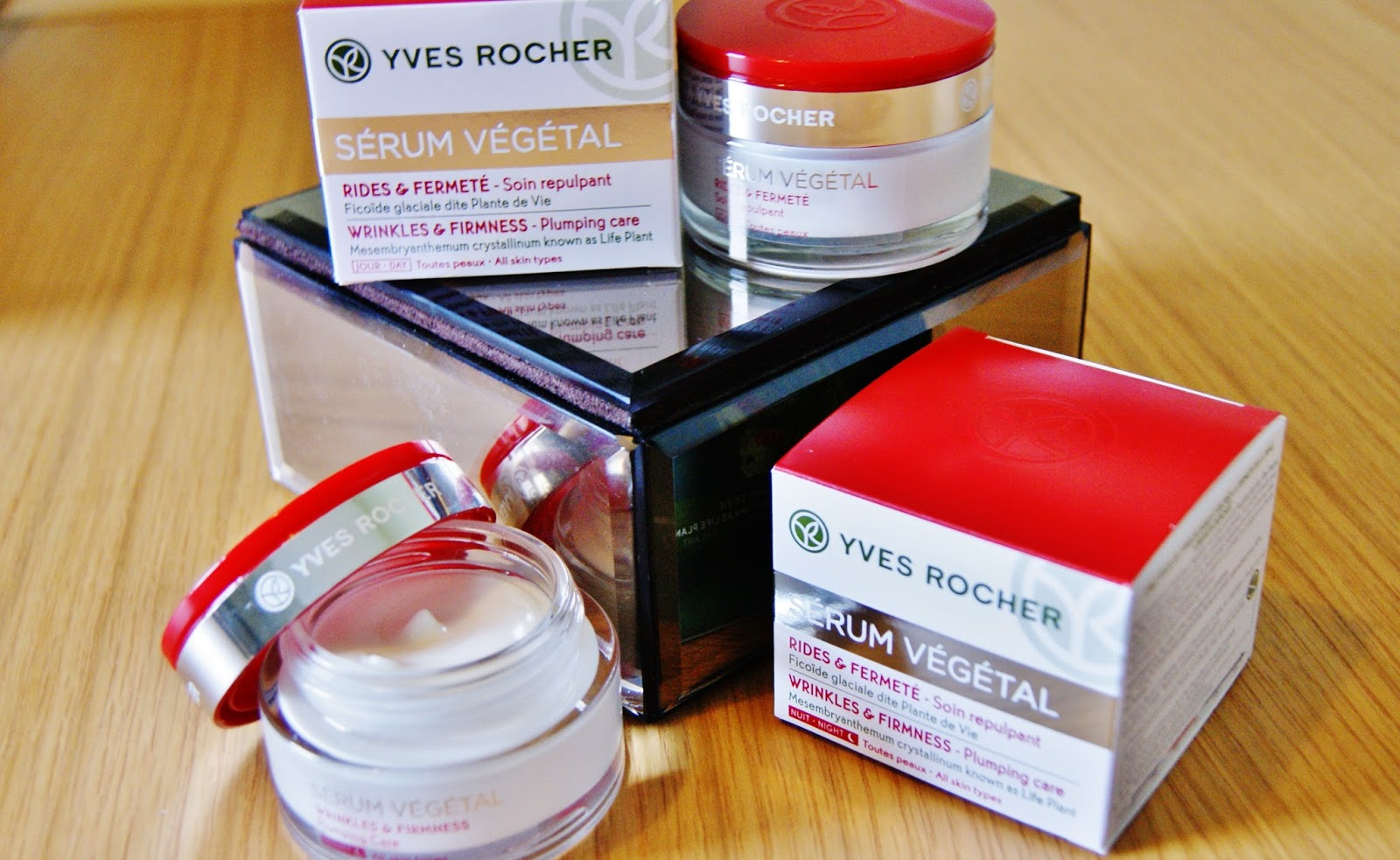 BEAUTY REVIEW: YVES ROCHER SERUM VEGETAL WRINKLES & FIRMNESS CREAMS