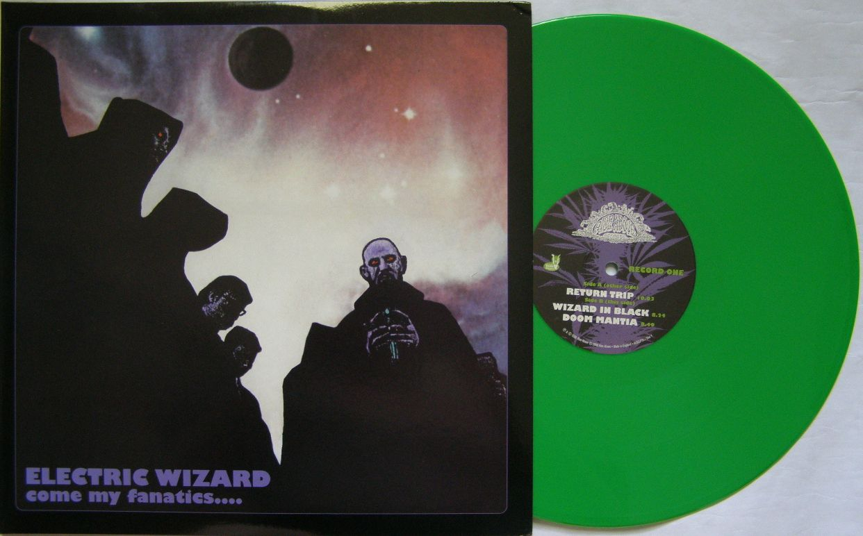 Moje Vinyly Electric Wizard Come My Fanatics 1997