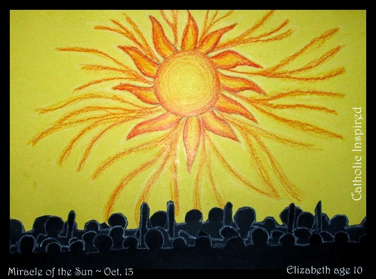 Miracle Of The Sun Art Project Our Lady Of Fatima