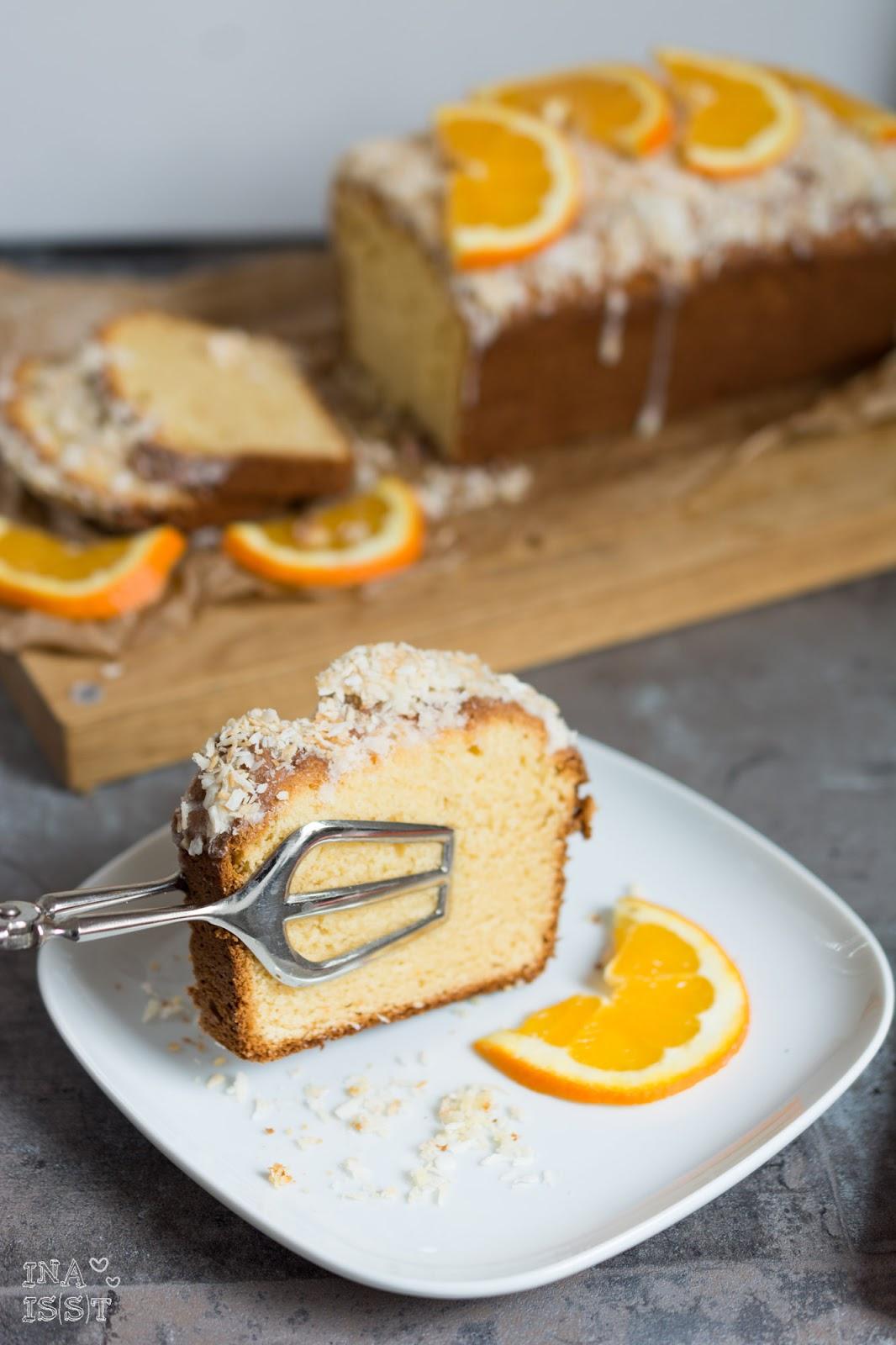Ina Is S T Einfacher Orangen Kokos Kuchen Quick And Easy Orange