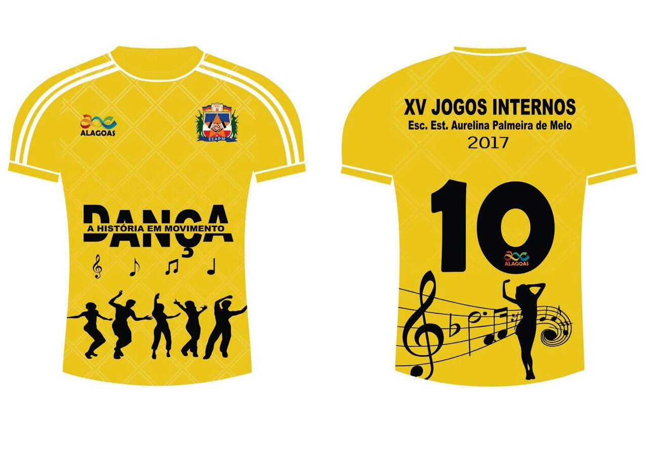 e17d6cb6d4 Aurelina Palmeira de Melo  Camisas dos Jogos Internos 2017