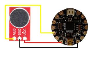 Connexió del sensor de so